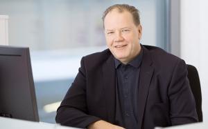 Kuvassa toimitusjohtaja Juha Veistonen